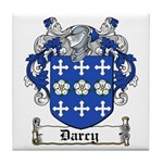 Darcy Coat of Arms Tile Coaster