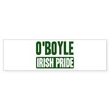 OBoyle irish pride Bumper Bumper Sticker