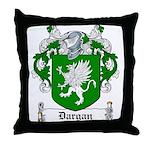 Dargan Coat of Arms Throw Pillow