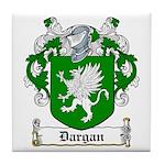Dargan Coat of Arms Tile Coaster