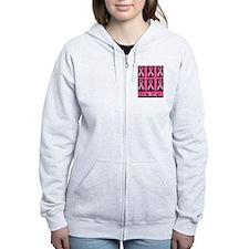 Think Pink Zip Hoodie