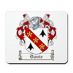 Davie Coat of Arms Mousepad
