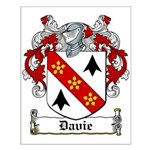 Davie Coat of Arms Small Poster