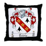 Davie Coat of Arms Throw Pillow