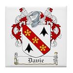 Davie Coat of Arms Tile Coaster