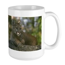 Large Mountain Lion Mug