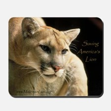 Mountain Lion Mousepad