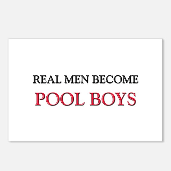 Real Men Become Pool Boys Postcards (Package of 8)
