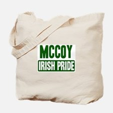 McCoy irish pride Tote Bag