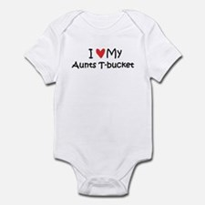 Love My Aunts T-Bucket Infant Bodysuit