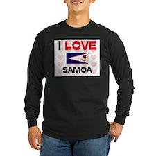 I Love Samoa T