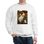 Windflowers / Eskimo Spitz #1 Sweatshirt