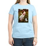 Windflowers / Eskimo Spitz #1 Women's Light T-Shir