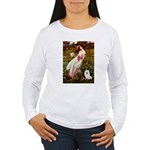 Windflowers / Eskimo Spitz #1 Women's Long Sleeve