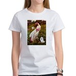 Windflowers / Eskimo Spitz #1 Women's T-Shirt