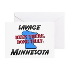 savage minnesota - been there, done that Greeting