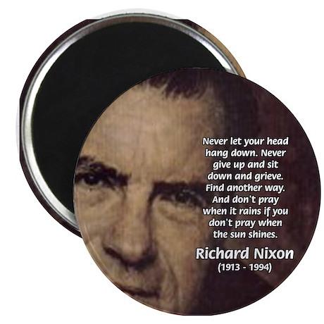 Inspiration President Nixon Magnet