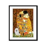 Kiss / Eskimo Spitz #1 Framed Panel Print