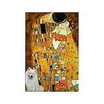 Kiss / Eskimo Spitz #1 Rectangle Magnet (100 pack)
