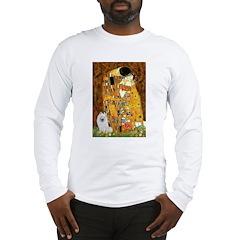 Kiss / Eskimo Spitz #1 Long Sleeve T-Shirt