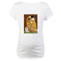 Kiss / Eskimo Spitz #1 Maternity T-Shirt