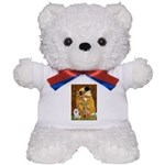 Kiss / Eskimo Spitz #1 Teddy Bear