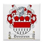 Devereux Coat of Arms Tile Coaster
