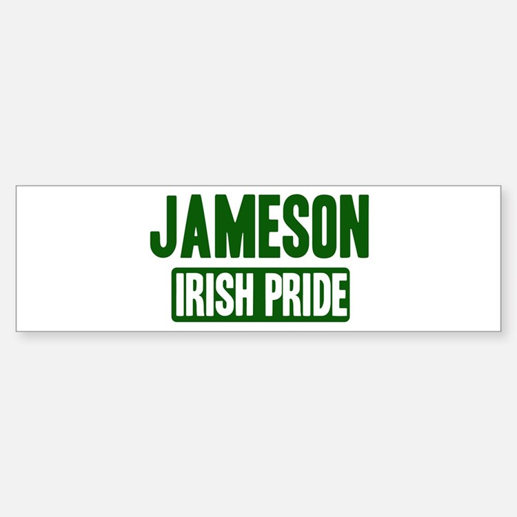 Jennings irish pride Bumper Bumper Bumper Sticker