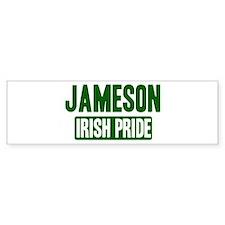 Jennings irish pride Bumper Car Sticker