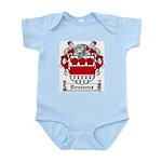 Devereux Coat of Arms Infant Creeper