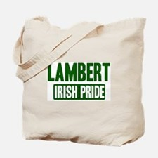 Lambert irish pride Tote Bag