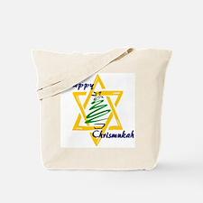 Happy Chrismukah Tote Bag