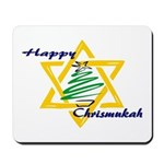 Happy Chrismukah Mousepad