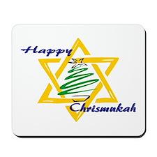 Happy Chrismukah Mousepad