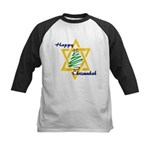 Happy Chrismukah Kids Baseball Jersey