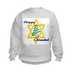 Happy Chrismukah Kids Sweatshirt