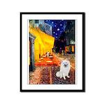 Cafe / Eskimo Spitz #1 Framed Panel Print