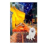Cafe / Eskimo Spitz #1 Postcards (Package of 8)
