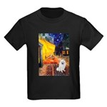 Cafe / Eskimo Spitz #1 Kids Dark T-Shirt