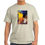 Cafe / Eskimo Spitz #1 Light T-Shirt