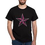 Nautical star pink Dark T-Shirt