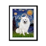 Starry / Eskimo Spitz #1 Framed Panel Print