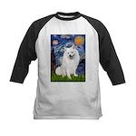 Starry / Eskimo Spitz #1 Kids Baseball Jersey