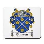 Dinneen Coat of Arms Mousepad