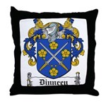Dinneen Coat of Arms Throw Pillow
