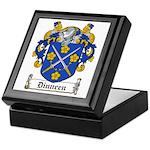 Dinneen Coat of Arms Keepsake Box