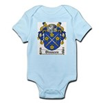 Dinneen Coat of Arms Infant Creeper