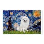 Starry / Eskimo Spitz #1 Sticker (Rectangle 50 pk)