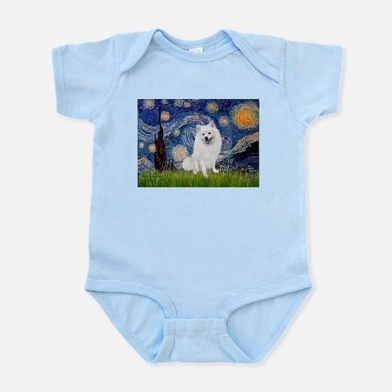 Starry / Eskimo Spitz #1 Infant Bodysuit