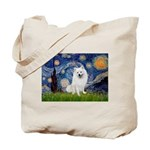 Starry / Eskimo Spitz #1 Tote Bag